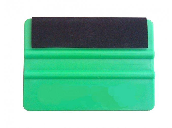 Stěrka zelená s pěnovou hranou