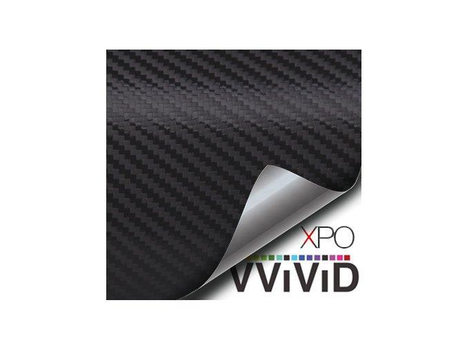 Černá karbonová VViViD vinyl