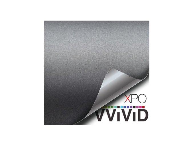 Gunmetal šedá VViViD vinyl, kanálky
