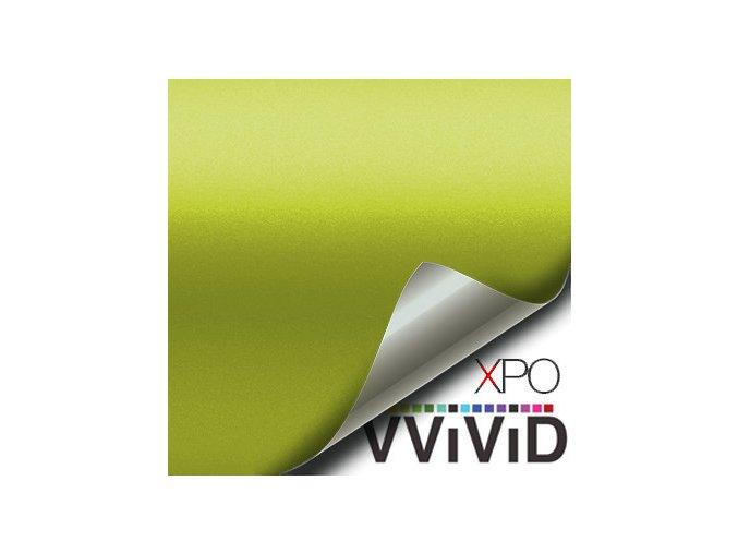 Citronově žlutá matná VViViD vinyl, kanálky