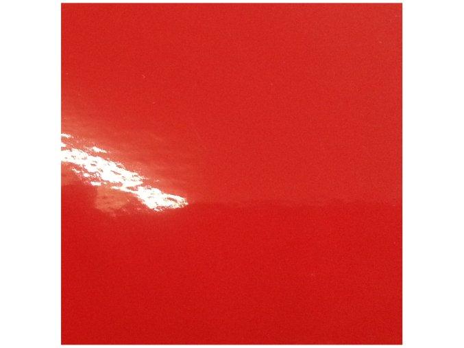 Rajčatově červená lesklá KPMF, kanálky