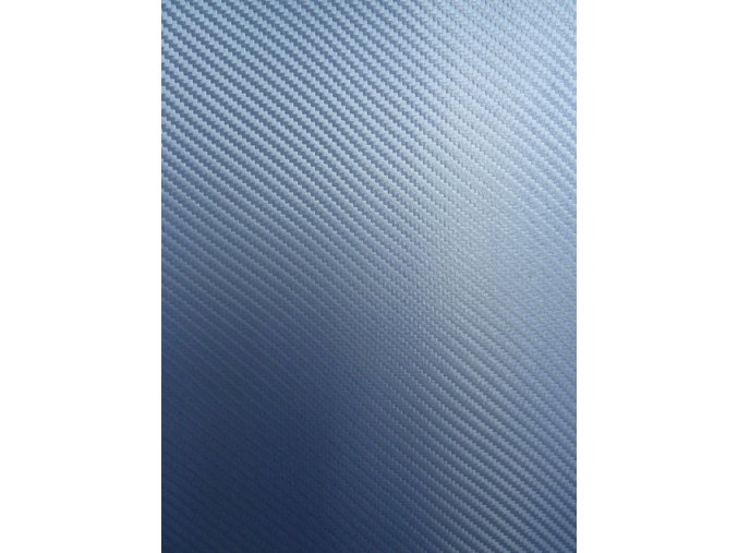 Modrá karbonová Grafiwrap, litá s kanálky