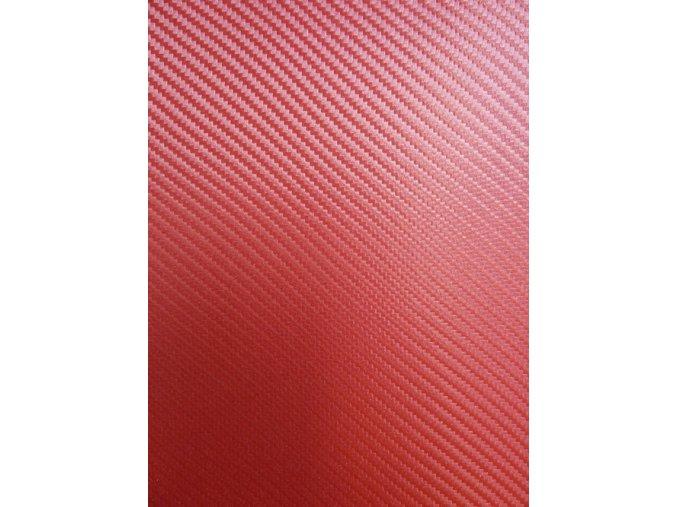Červená karbonová Grafiwrap, litá s kanálky