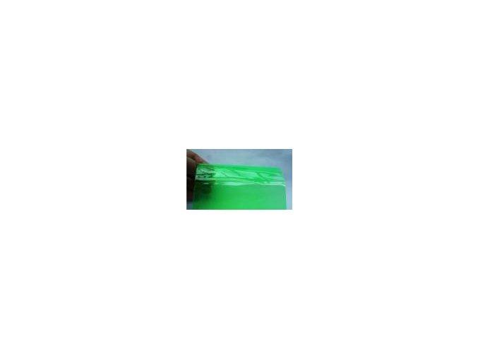 Zelená fólie na světla