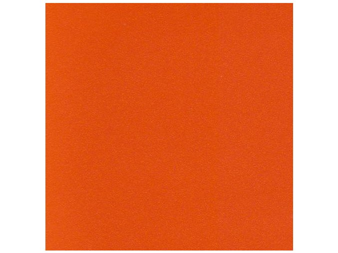 Oranžová matná KPMF, s kanálky