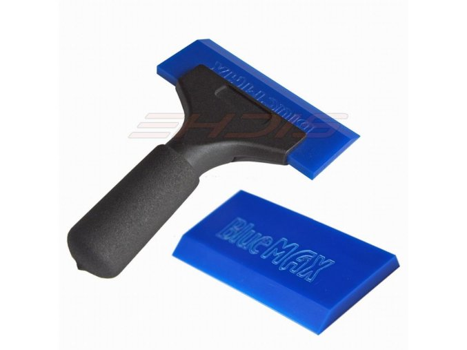1pc bluemax rubber handle squeegee 1pc beef tendon rubber for car body snow floor cleaning vinyl film wall paper install