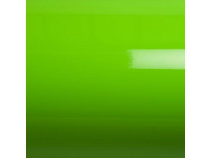 Zelená lesklá Grafiwrap, bez kanálků 95 x 140 cm
