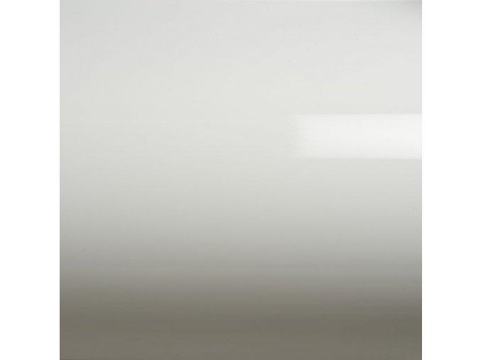 Lesklá bílá Grafiwrap, polymerická bez kanálků 152 x 170 cm