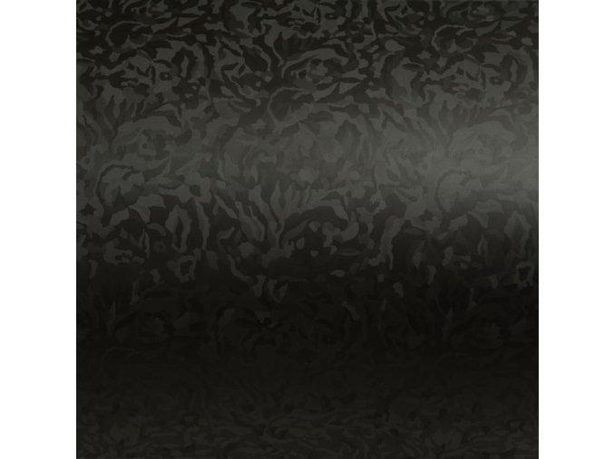 Černá autofólie se vzorem maskáče 152 x 70 cm