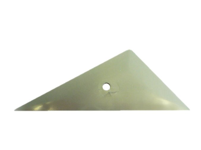Trojúhelníková stěrka Eazy Silver, měkká