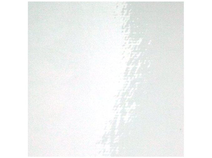 Bílá lesklá KPMF, kanálky 152 x 90 cm