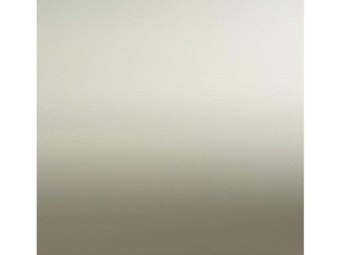 Bílá perleťová karbon Grafiwrap, bez kanálků 152 x 90 cm