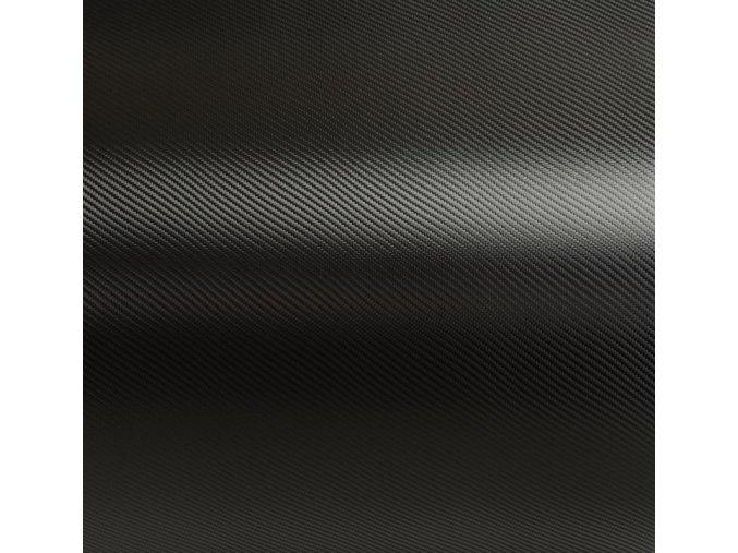 Černá karbonová Grafiwrap, litá s kanálky 74 x 150 cm