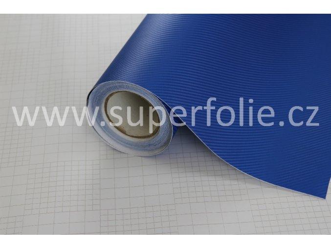 Modrá karbonová fólie, kanálky