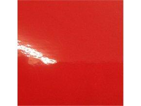 Rajčatově červená lesklá KPMF, bez kanálků