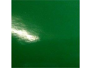 Středně zelená lesklá KPMF, bez kanálků