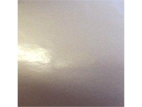 Stříbrná lesklá KPMF, bez kanálků
