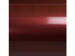 Červená metalická Grafiwrap, bez kanálků