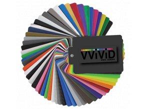 Vzorník folií VViViD vinyl