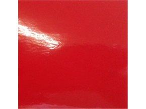 Tmavě červená lesklá KPMF, kanálky