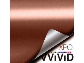 Měděná matná chromová VViViD, kanálky