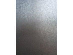 Tmavě šedý broušený hliník Grafiwrap, kanálky