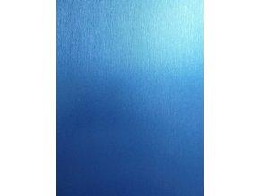 Tmavě modrý broušený hliník Grafiwrap, kanálky