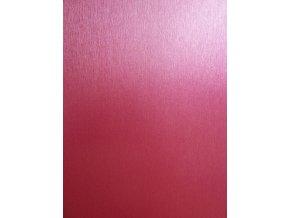 Růžový broušený hliník Grafiwrap, kanálky