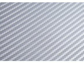 Stříbrná karbonová fólie Grafiwrap, polymerická bez kanálků