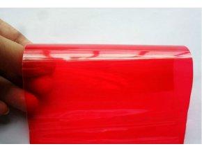 Červená fólie na světla