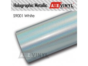 S9001 White Gloss Flip Psychedelic HOLOGRAPHIC METALLIC FILM