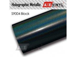 S9004 Black Gloss Flip Psychedelic HOLOGRAPHIC METALLIC FILM