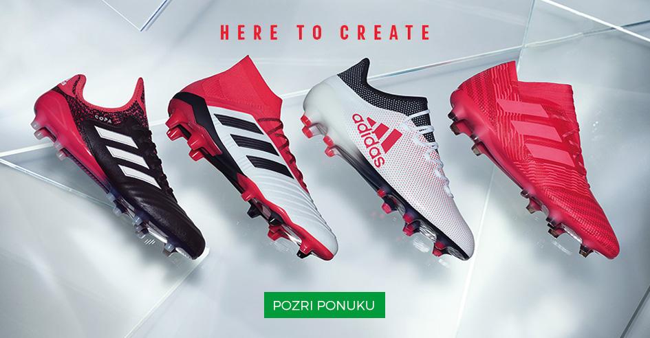 Kopačky Adidas Here to Create