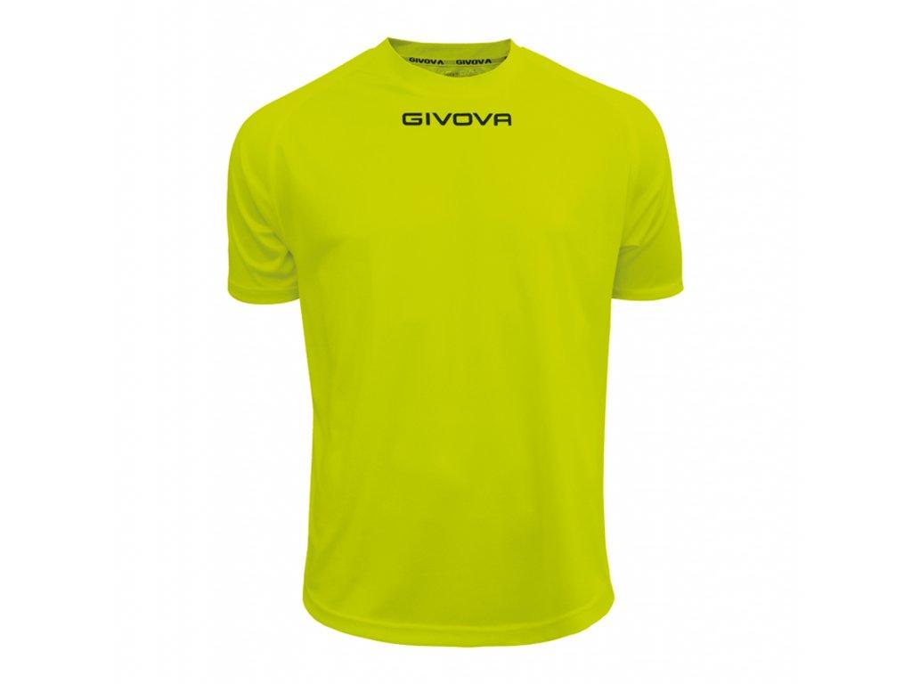 47cb150ad4298 Tréningové tričko Givova one, žltá neónová | Superfutbal.sk