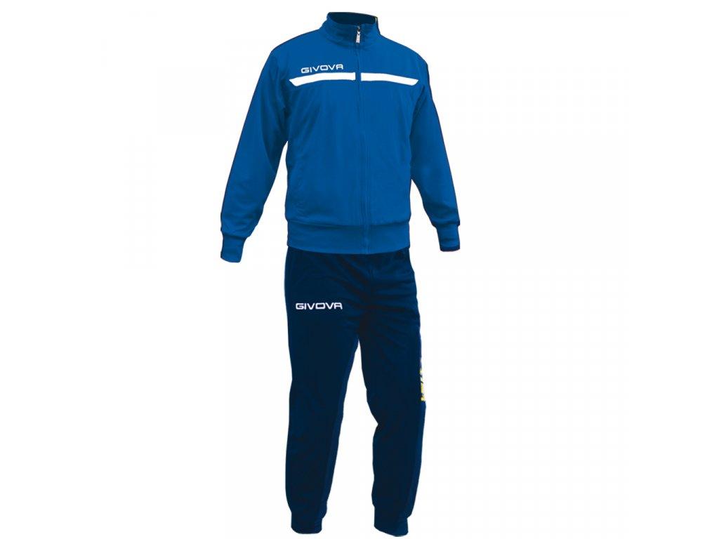 d14aef0a75b31 Tréningová súprava Tuta one full zip, kráľovsky modrá / tmavo modrá ...