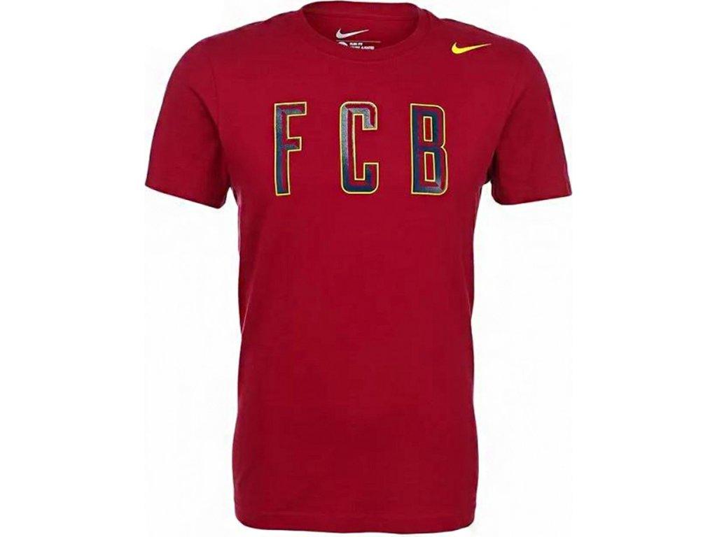 4333f59bdcc8b Futbalový dres NIKE FC BARCELONA CORE PLUS TEE bordový /656528 620 ...