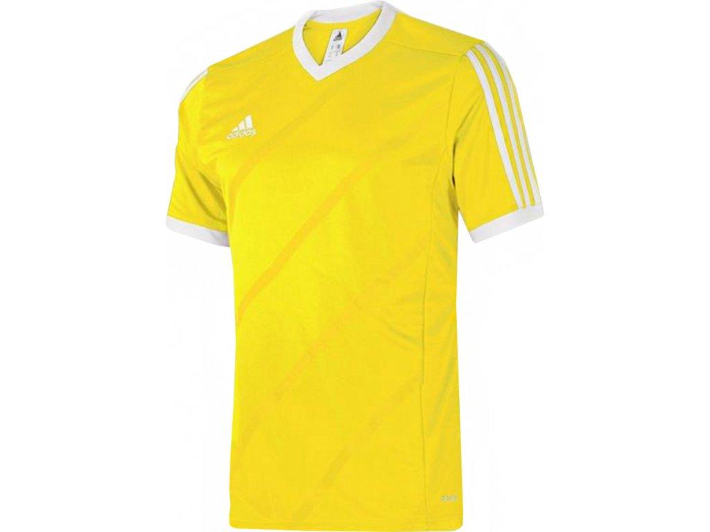 Detský futbalový dres adidas TABELA 14 JSY junior žltý /F84835