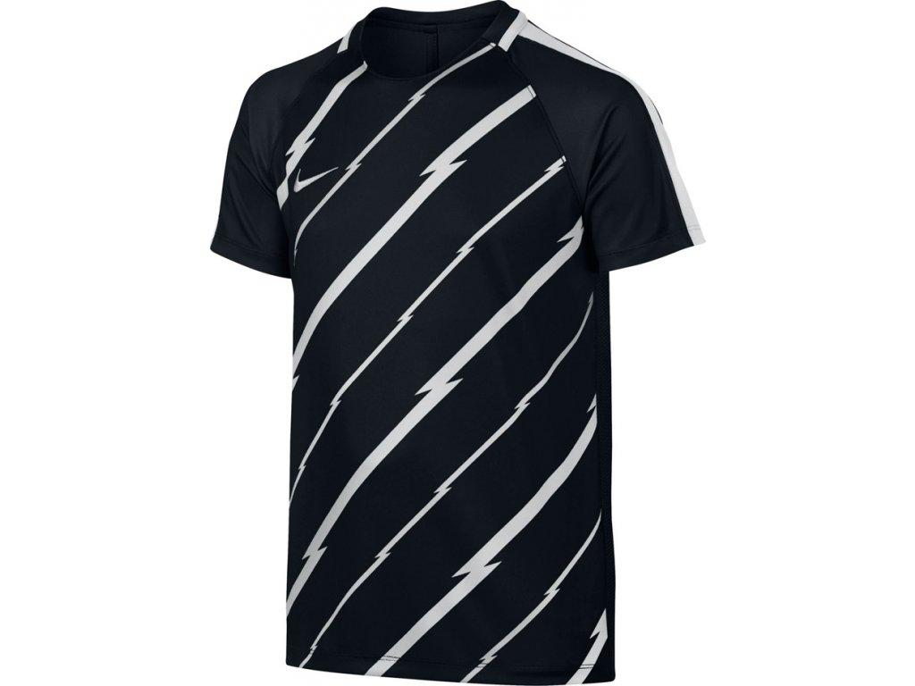 Detské tričko NIKE  NK DRY SS SQUAD GX1 JR čierne 833008 010