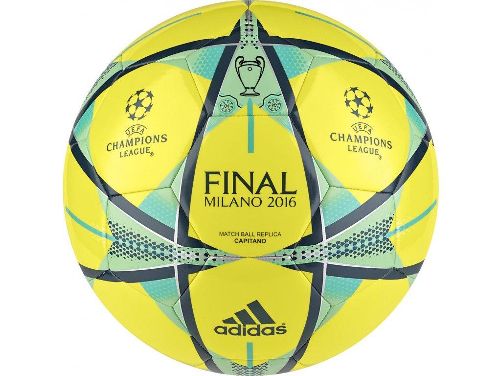 Futbalová lopta adidas FINALE MILANO CAPITANO AC5491