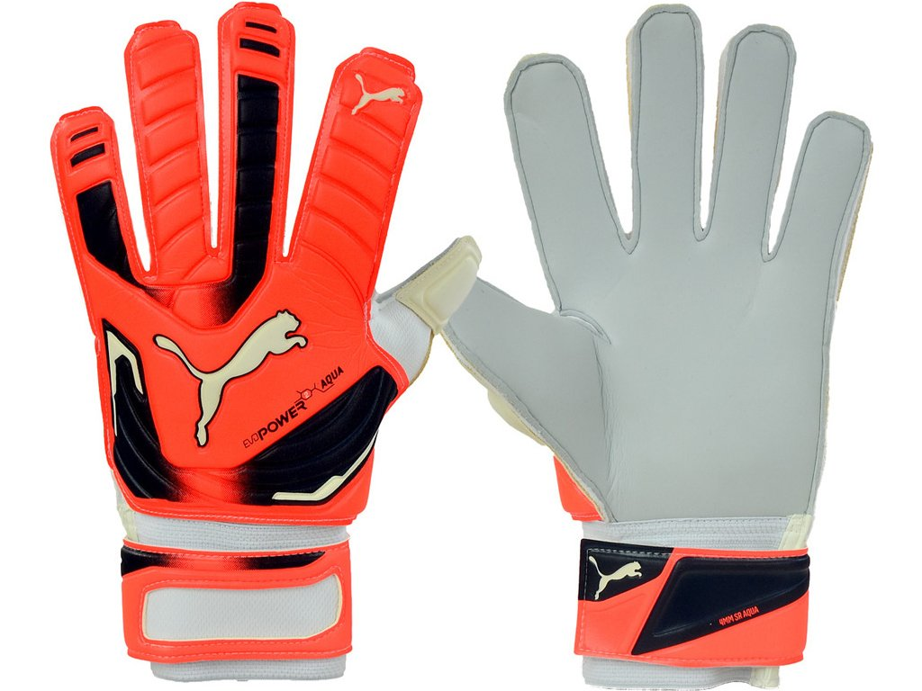 Brankárske rukavice PUMA EVO POWER GRIP 2 AQUA 41145 30