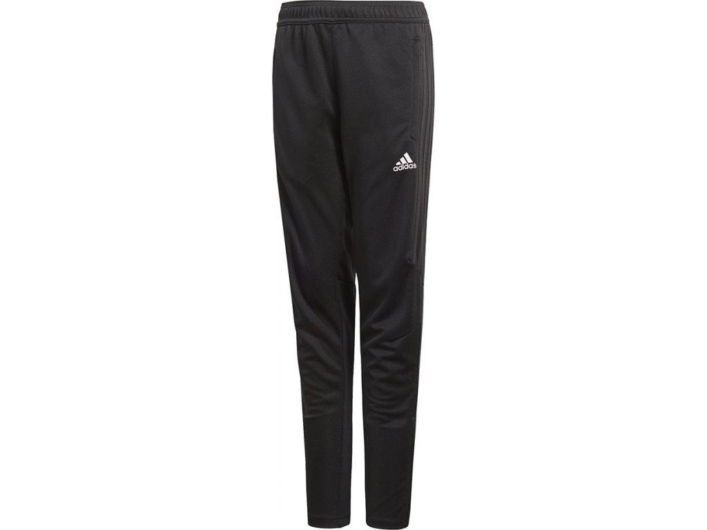 Detské tréningové tepláky adidas TIRO 17 TRAINING PANTS JR čierne BK0351