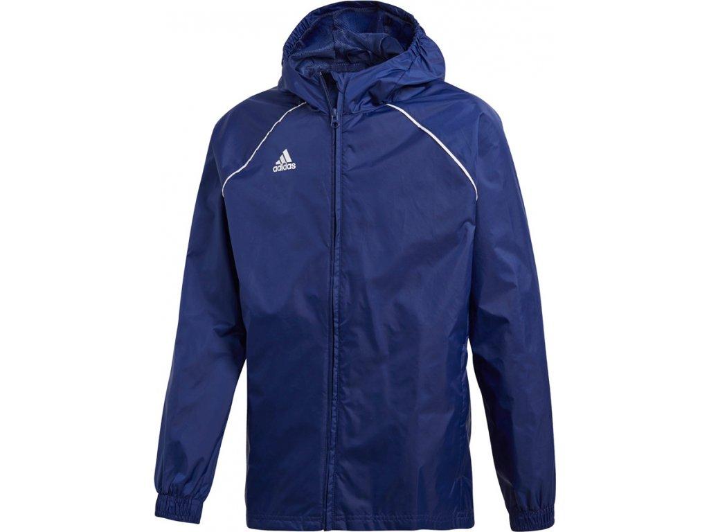 Detská bunda adidas CORE 18 RAIN JR modrá CV3742