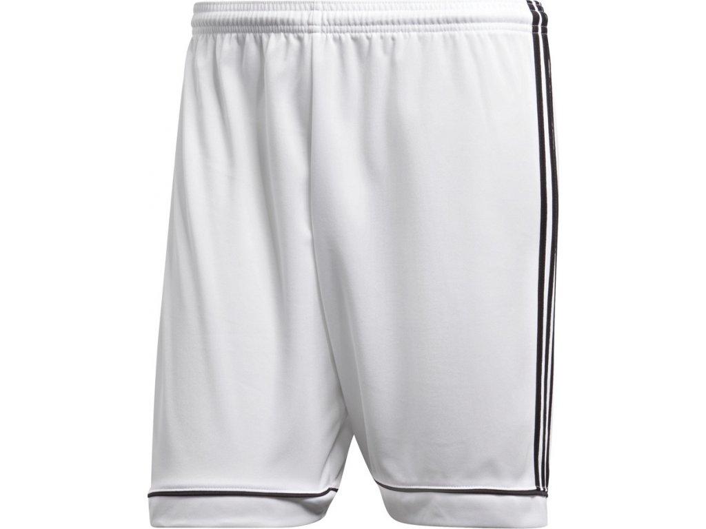 Detské šortky adidas SQUADRA 17 JR bielo-čierne BJ9227