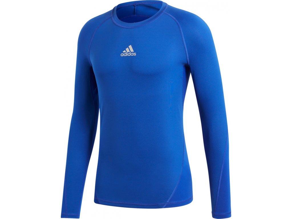 Tričko s dlhým rukávom Adidas ALPHASKIN SPORT LST M - modrá CW9488