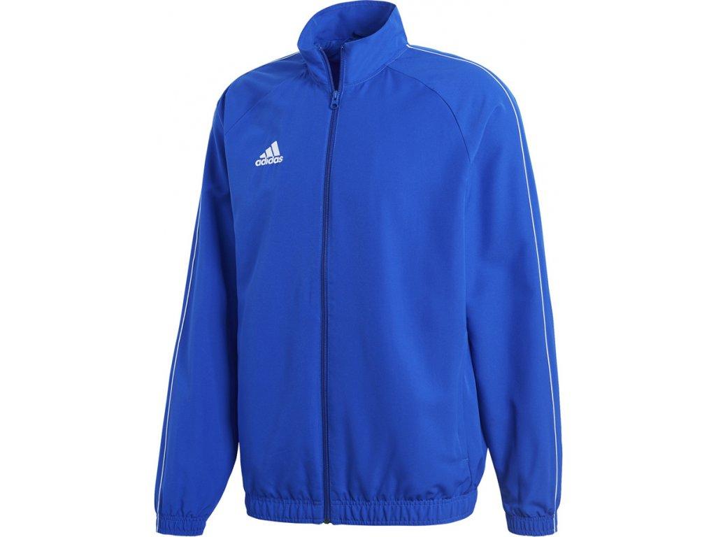 Mikina Adidas CORE 18 PRESENTATION - modrá CV3685