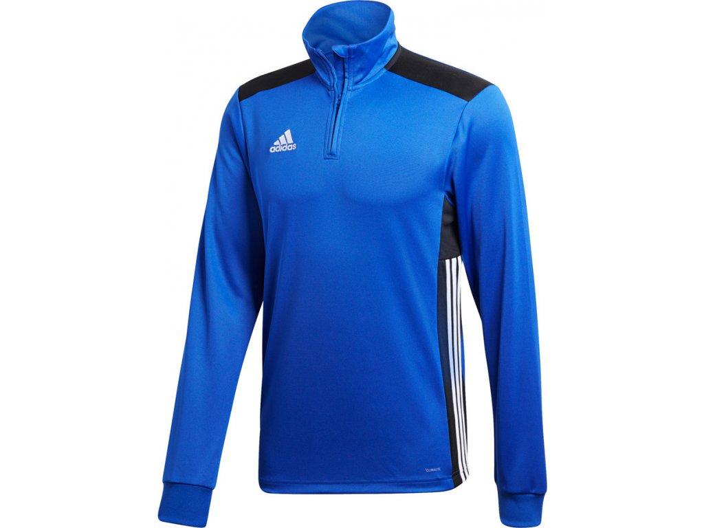 Mikina Adidas REGISTA 18 TRAINING - modrá CZ8649
