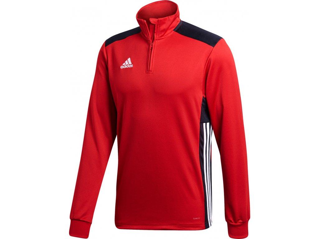 Mikina Adidas REGISTA 18 TRAINING - červená CZ8651