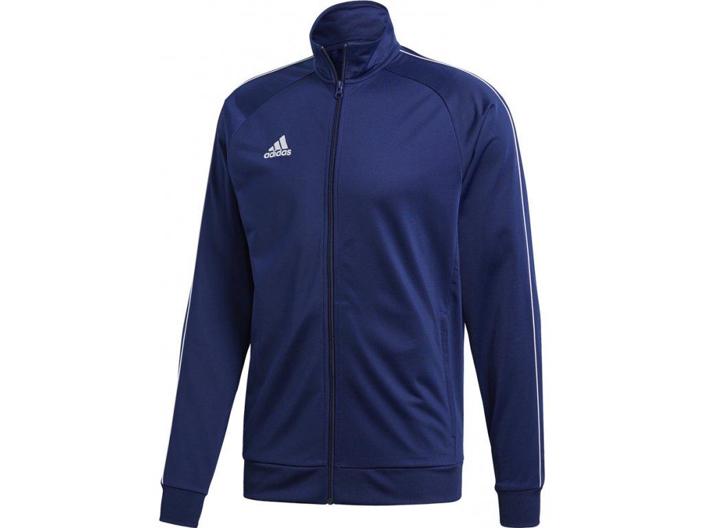 Mikina Adidas CORE 18 PES - tmavo-modrá CV3563