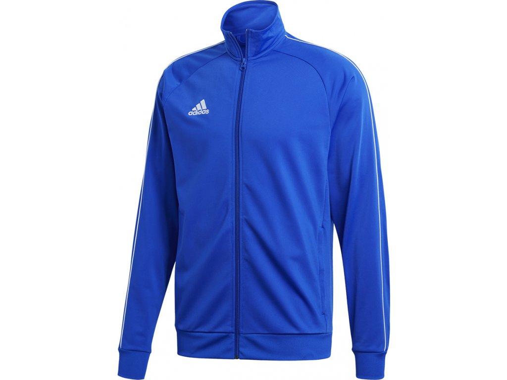 Mikina Adidas CORE 18 PES - modrá CV3564