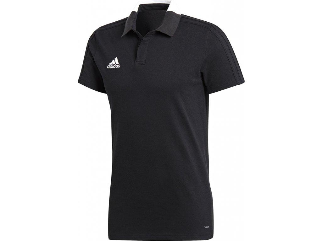 Polokošeľa adidas CONDIVO 18 čierny  BQ6565